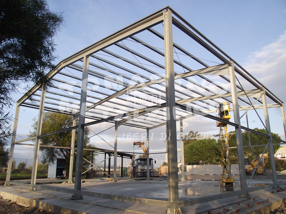 costruzione shelter