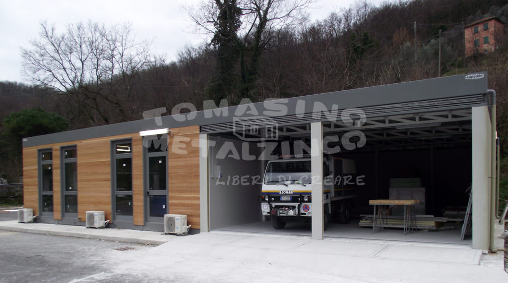box garage prefabbricato