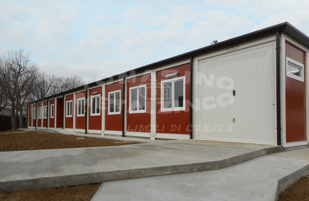 dettaglio garage moduli prefabbricati