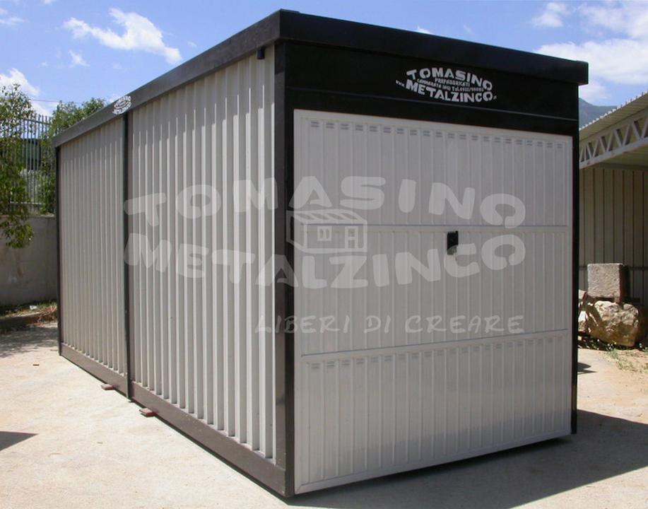 box shelter prefabbricato