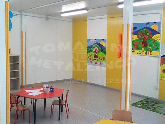 prefabbricato scuola