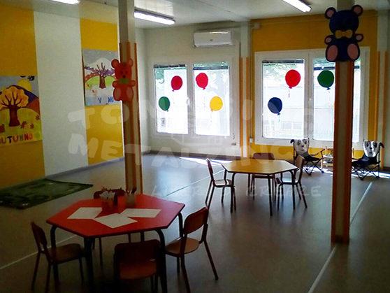 prefabbricato scuola interni