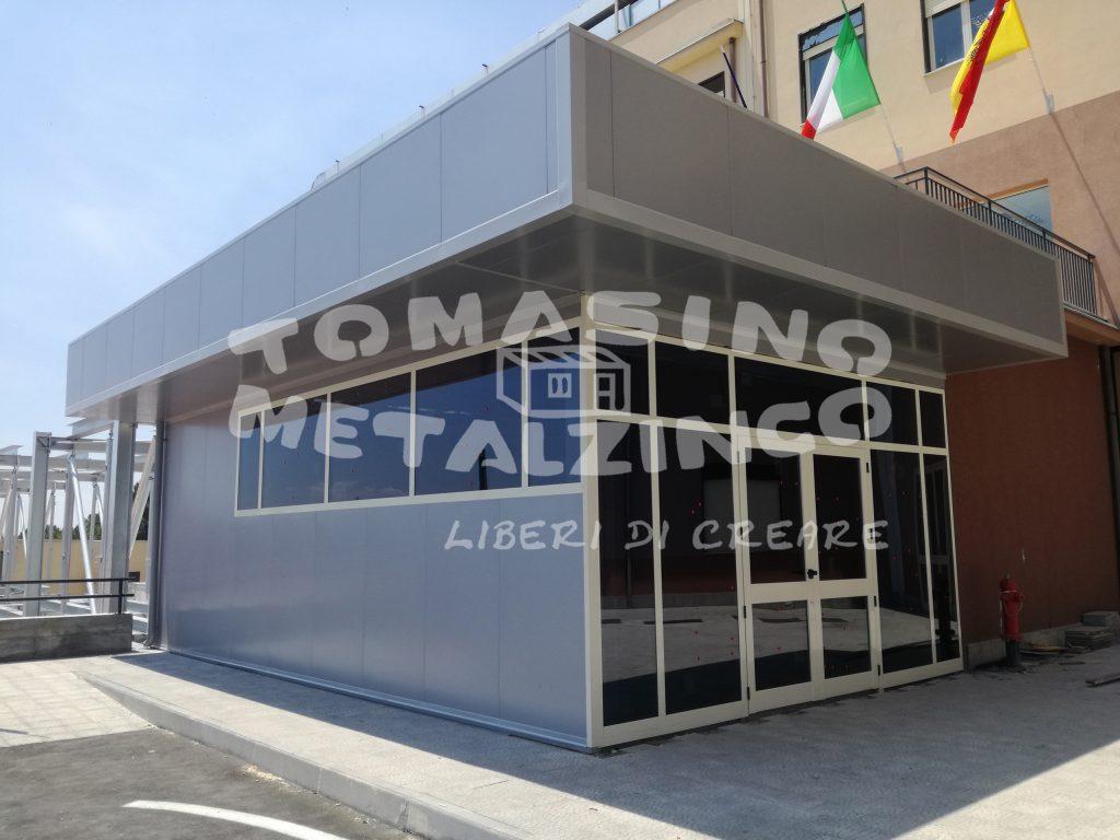 struttura entrata metalzinco