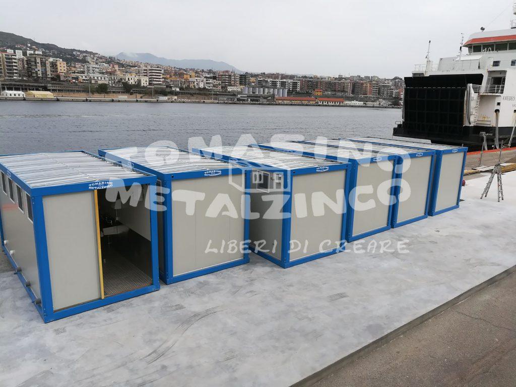 box servizi prefabbricato metalzinco